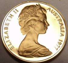 Buy Cameo Proof Australia 1977 Cent~Only 55,000 Minted~Feather-tailed Glider~Free Sh
