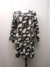 Buy SIZE XL 16-18 Womens Sleep Shirt MICRO FLEECE Sheep Print Long Sleeve Pullover