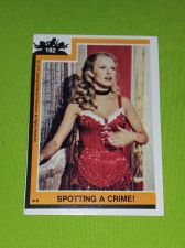 Buy VINTAGE 1977 CHARLIES ANGELS TELEVISION SERIES COLLECTORS CARD #182 GD-VG