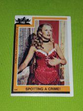 Buy VINTAGE 1977 CHARLIES ANGELS TELEVISION SERIES COLLECTORS CARD #182 GD-VG