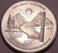 Buy Huge Unc 1970 Jasper Canada~Along The Yellow Head Route~Dollar~Free Shipping