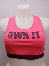 Buy BRA M Women Sport Bra DANSKIN Pink Racer Back Performance Fit Moisture Wicking
