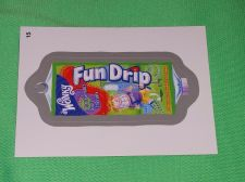 Buy RARE Willy Wonka Wacky Package Fun Drip Collectors Sticker Card Mint