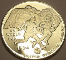 Buy Rare Silver Proof Uganda 1992 10,000 Shillings~World Cup Soccer~10k Minted~Fr/Sh