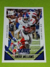 Buy NFL 2015 PANINI ANDRE WILLIAMS GIANTS SUPERSTAR #288 MNT