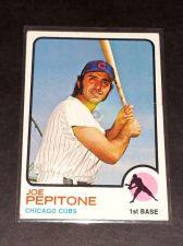 Buy VINTAGE JOE PEPITONE CUBS 1973 TOPPS #580 GD-VG
