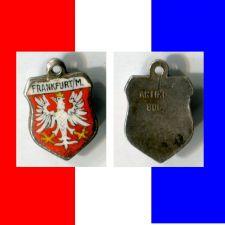 Buy FRANKFURT M Enamel & Silver Travel Shield Souvenir Charm