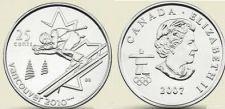 Buy UNC CANADA OLYMPIC 2007 ALPINE SKIING QUARTER~FREE SHIP