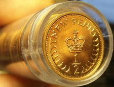 Buy Gem Unc Roll (50 Coins) Great Britain 1980 Half Pennys~Excellent~Free Shipping