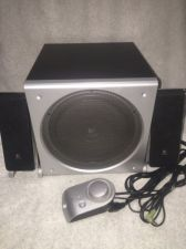 Buy Logitech Z3 Surround Sound Subwoofer w/2 satellite Speaker System pc computer