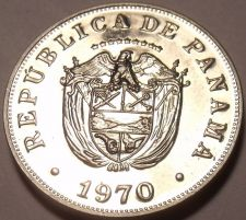 Buy Rare Proof Panama 1970 5 Centisimos~Only 9,528 Minted~Excellent~Free Shipping
