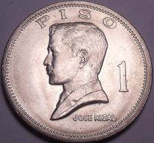 Buy Huge Gem Unc Philippines 1972 Piso~1st Year Ever~Jose Rizal~Free Shipping