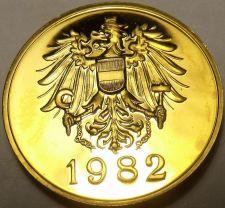 Buy AUSTRIA 1982 PROOF SET MEDALLION~EXCELLENT~FREE SHIP~