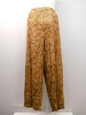 Buy PLUS SIZE 4X Womens Casual Pants BOCA BAY Animal Print Wide Legs Inseam 30
