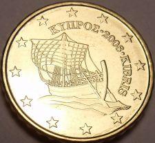 Buy GEM UNC 2008 CYPRUS 10 EURO CENTS~PIRATE SHIP~FREE SHIP