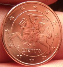 Buy Gem Unc Lithuania 2015 2 Euro Cents~Knight On a Horse~Free Shipping