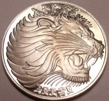Buy Rare Proof Ethiopia EE-1969 FM Proof 50 Cents~Roaring Lion~Excellent~Free Ship
