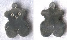 Buy Vintage Sterling 925 Silver FLAT Teddy ( TOUS) Bear Charm