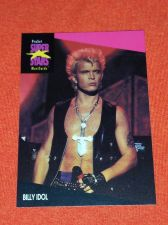 Buy RETRO BILLY IDOL 1992 PROSET ROCK & ROLL COLLECTORS CARD #187 MNT