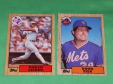 Buy VINTAGE 1987 TOPPS BASEBALL CARD LOT #5 GD-VG
