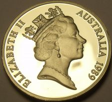 Buy Cameo Proof Australia 1989 5 Cents~Echidna~67,000 Minted~Proofs Are Best~Fr/Ship