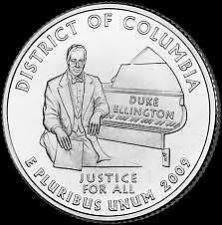 Buy Gem Unc United States 2009-D District Of Columbia Territorial Quarter~Free Ship