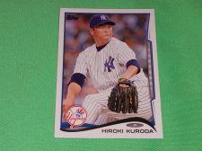 Buy MLB Hiromi Kuroda Yankees 2014 Topps Baseball GD-VG