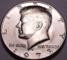 Buy United States Unc 1973-D Kennedy Half Dollar~Free Shipping