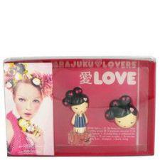 Buy Harajuku Lovers Love by Gwen Stefani Gift Set -- 1 oz Eau De Toilette Spray + Solid P
