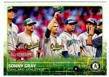 Buy 2015 Topps Update #US93 SONNY GRAY Oakland Athletics
