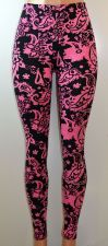 Buy E&K All Over Paisley Print Stretch Leggings,One Size