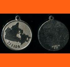 Buy Vintage EMC Sterling ROUND CANADA Souvenir MAP CHARM
