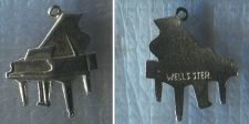 Buy Vintage Music Charm : Wells Sterling Flat Piano Charm