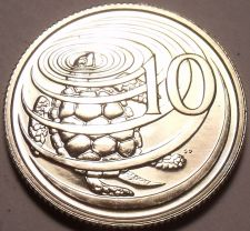 Buy Rare Proof Cayman Islands 1973 10 Cents~Green Turtle~Only 9,988 Minted~Free Ship