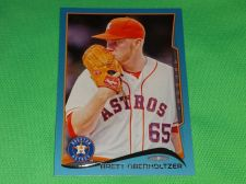 Buy MLB BRETT OBERHOLTZER ASTROS SUPERSTAR 2012 TOPPS BLUE BORDER BASEBALL MNT