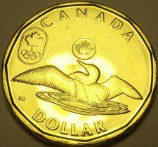 Buy Gem Unc Canada 2012 London Olympic Loonie Dollar~Fantastic~Free Shipping