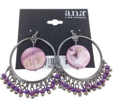 Buy A.N.A Hoop Earrings