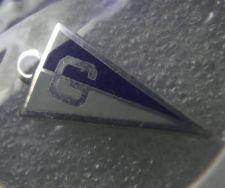"Buy Vintage Charm : Banner Pennant Letter ""G"" Sterling Silver & Enamel"
