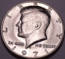 Buy United States Unc 1971-D Kennedy Half Dollar~Free Shipping