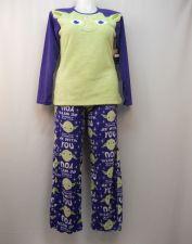 Buy Star Wars Yoda Women's Pajamas 2PC Set Size 2X Sleep Shirt & Pants Minky Fleece