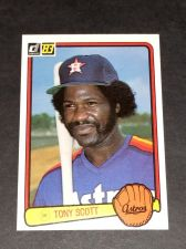 Buy VINTAGE ANTHONY SCOTT ASTROS SUPERSTAR 1983 DONRUSS #293 GD-VG