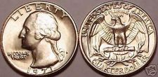 Buy 1971-D BRILLIANT UNCIRCULATED WASHINGTON QUARTER~FREE SHIPPING INCLUDED~