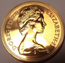 Buy Great Britain Proof 1978 Half New Penny~We Have Great Britain Proofs~Free Ship