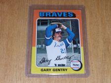Buy VINTAGE GARY GENTRY BRAVES 1975 TOPPS BASEBALL #393 GD-VG