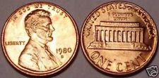 Buy 1980-D BRILLIANT UNCIRCULATED LINCOLN CENT