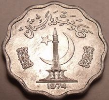 Buy Gem Unc Pakistan 1974 10 Paisa F.A.O. Issue~1st Year Ever Minted~Free Shipping