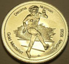 Buy Large Gem Unc Decima Norman~Gold Medalist Medallion~Excellent~Free Shipping