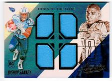 Buy NFL 2014 Panini Absolute Bishop Sankey QUAD Jersey /99 MNT