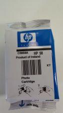 Buy 58 photo cartridge ink jet - HP PhotoSmart 7350 7660 7960 7760 7550 7350 printer