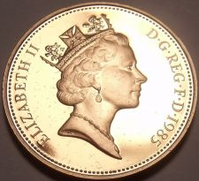 Buy Gem Cameo Proof Great Britain 1985 Penny~Collect The Best UK Proof Pennys~Fr/Shi